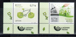 Litauen / Lithuania / Lituanie 2016 Satz/set EUROPA ** - 2016