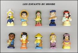 Fèves Série Complète - Enfants Du Monde - 2010 - Otros