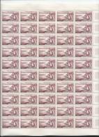 Feuille Complète De  50 Timbres Du N° 1193 Evian Les Bains. - Volledige Vellen