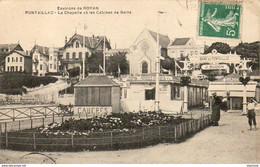 D17  ROYAN  La Chapelle Et Les Cabines De Bains - Royan