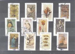 France Autoadhésifs Oblitérés (Série Complète : Un Cabinet De Curiosités) (cachet Rond) - Used Stamps