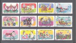 France Autoadhésifs Oblitérés (Série Complète : Vacances, Espace, Soleil, Liberté) (cachet Rond) - Used Stamps