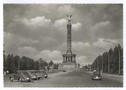 Berlin Siegessäule Gel. 1956 Käfer PKW KFZ - Tiergarten