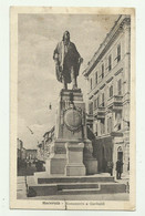 MACERATA - MONUMENTO A GARIBALDI 1918 VIAGGIATA FP - Macerata