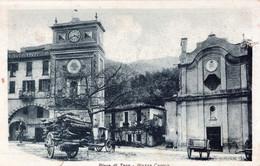 Pieve Di Teco-Piazza Cavour-Vg Il...x Torino-Originale 100%-Piccola Piega E Taglietto Di Un Cm Angolo In Alto A Destra - Imperia