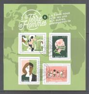 France Bloc Oblitéré (La Terre Et Les Hommes) ( Cachet Rond) - Used Stamps