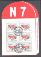 France Bloc Oblitéré (La Route Des Vacances N7) ( Cachet Rond) - Used Stamps