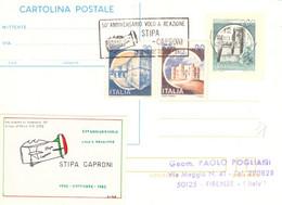 50° Anniversario Volo A Reazione Stipa Caproni -vinc - 1971-80: Marcofilia