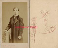 Par Disdéri  à Paris-CDV Beau Jeune Homme, Bel état - Antiche (ante 1900)