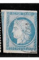 TIMBRES N° 60/A ;147 G3  ND,  Partie Gauche Du Voisin Avec La Variété Du 146 G3 ; EN L'ÉTAT - Ceres