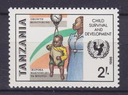 Tanzania 1986 Mi. 333    2 Sh. UNICEF Campaign Child Survival And Development, MNH** - Tanzania (1964-...)
