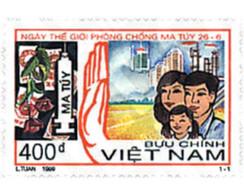 Ref. 92855 * MNH * - VIET NAM. 1999. INTERNATIONAL DAY FOR COMBATING DRUGS . DIA INTERNACIONAL DE LA LUCHA CONTRA LA DR - Unclassified
