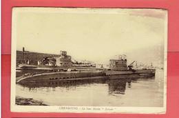 CHERBOURG MANCHE LE SOUS MARIN NAIADE Q124 - Submarinos