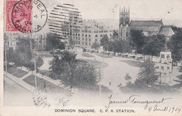 DOMINION SQUARE,C.P.R.STATION - Montreal