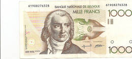 1000 Fr - Grétry - 105 G - 1000 Francos