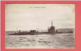 LE SOUS MARIN CARISSAN EX UNTERSEEBOOT UB 99 U BOOT ALLEMAND DE LA PREMIERE GUERRE - Submarinos