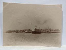 Le Havre. Entrée Du Port. 1905. 8x11 Cm - Plaatsen