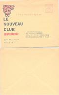 LETTRE PUBLICITAIRE LE NOUVEAU CLUB SPIROU - 3.5.1962   / 2 - Brieven En Documenten