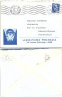 LETTRE PUBLICITAIRE LABORATOIRES THO-RADIA PARIS 23.3.1955 / 2 - Briefe U. Dokumente