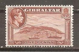 Gibraltar  Nº Yvert  103 (usado) (o) - Gibraltar