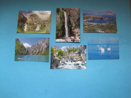 Albania Different Lot Of 6 Postcards (9) - Albanie