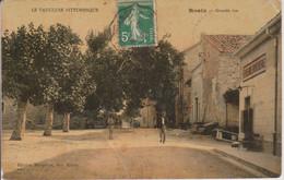 84 - ROAIX - GRANDE RUE - CARTE TRAMEE - Other Municipalities