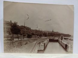 Belgique. Liège. Ecluse. Canal De La Meuse. 1905. 8x11 Cm - Plaatsen