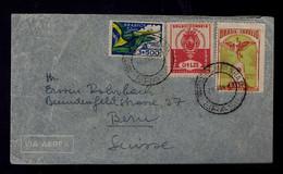 Brazil BELO HORIZONTE 1897-1947 Flags Drapeaux Monuments 1948 ICARO Landscape #87990 - Sobres