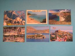Albania Different Lot Of 6 Postcards (30) - Albanie