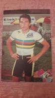 Giovanni RENOSTO Champion Du Monde Demi-fond 1989 - Ciclismo