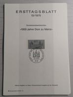 1975 ETB/13 1000 Jahre Dom Zu Mainz - Ohne Zuordnung