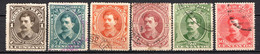 COSTA RICA - (Amérique Centrale) - 1889 - N° 19 à 24 - (Lot De 6 Valeurs Différentes) - America Centrale