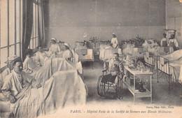 PARIS  -  Hopital école De La Société De Secours Aux Blessés Militaires - Santé, Hôpitaux