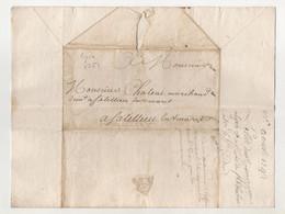 Ardèche De Lyon Pour Satillieu En Vivaret 1752 - Manuskripte