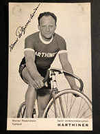 Werner Potzernheim - Harthiner - Carte / Card - Cyclists - Cyclisme - Ciclismo -wielrennen - Cycling