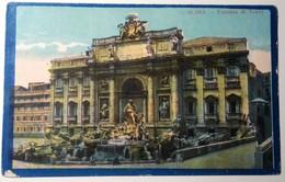 Roma - Fontana Di Trevi - 1918 - Fontana Di Trevi