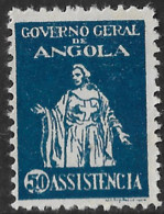 Angola – 1929 Assistência Mint Stamp - Angola