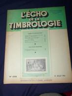 L'Echo De La Timbrologie 1954 No 1208 - Francesi (dal 1941))