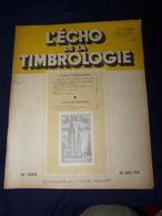 L'Echo De La Timbrologie 1954 No 1205 - Francesi (dal 1941))