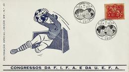 1956. Portugal. Congressos Da FIFA E Da UEFA - Sonstige
