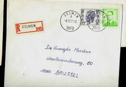 Doc. De GELMEN - A - ( 3860 ) Du 06/12/71 En Rec. ( E ) - Landpost (Ruralpost)