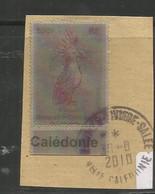 1078  Timbre Lenticulaire  Sur Fragment  Beau Cachet D'époque       (clasverA1) - Oblitérés