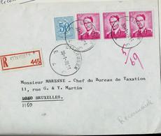 Doc. De ETTERBEEK - E 4 E - Du 30/01/70 En Rec. ( E ) - Landpost (Ruralpost)