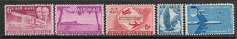 US   1949-57   Sc#C45-9   Airmails  MNH   2016 Scott Value $5.75 - 2b. 1941-1960 Nuovi