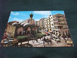 Beirut Beyrouth RUE FAKHREDDINE FAKHREDDIN STREET LIBANO LEBANON JEEP AUTO CAR MOSCHEA MOSQUE - Líbano
