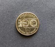 Australia UNC 2020 Qantas Centenary $1 Coin QEII JC Effigy - Dollar