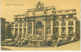 Roma; Fontana Di Trevi - Non Viaggiata. (STA) - Fontana Di Trevi