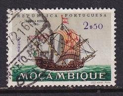 Mocambique 1963, Ship, Minr 501 Vfu - Mozambique