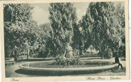 Roma 1927; Monte Pincio. Giardino - Viaggiata. (Cesare Capello - Milano) - Other