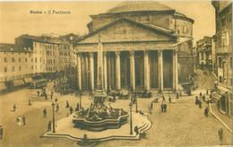Roma; Il Pantheon - Non Viaggiata. (STA) - Pantheon